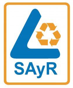 Logo SAyR blanco